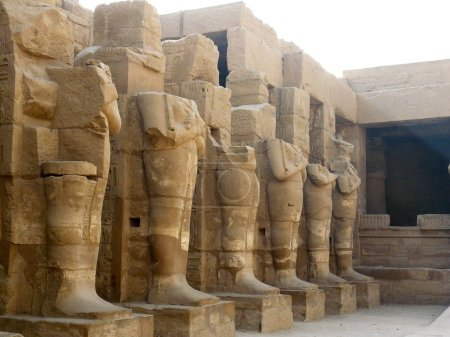An ancient ruines of Karnak in Egypt....