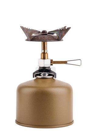 Portable Gas Stove  on white background.