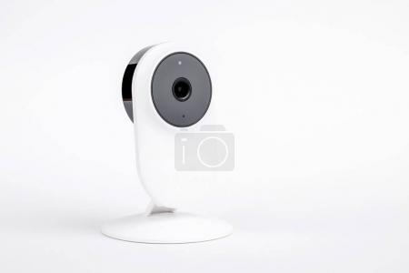 white security camera cctv