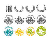 Agricultural industry logos