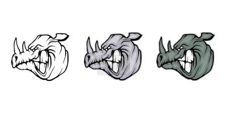 graphic rhino logo