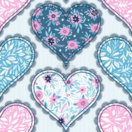 Illustration pour Gâteaux de Saint-Valentin - Image stock - image libre de droit