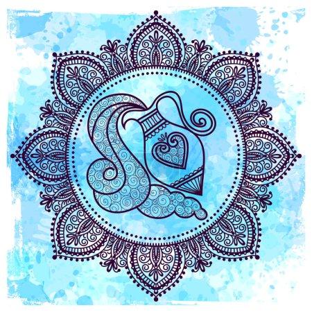 Set of Symbol Zodiac Sign