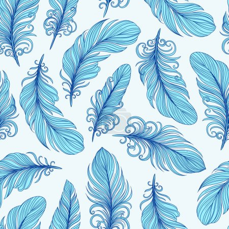 Template seamless pattern