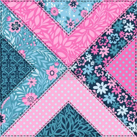 Seamless pattern in vintage style.