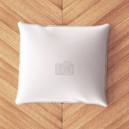 Mockup pillow in the interior