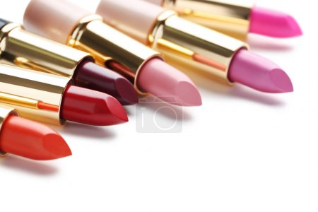 Colorful fashion lipsticks