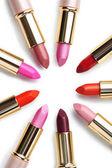 Colorful fashion lipsticks