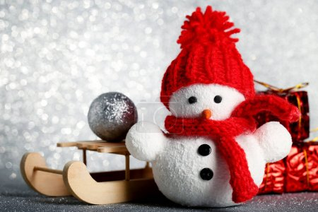 Small snowman toy