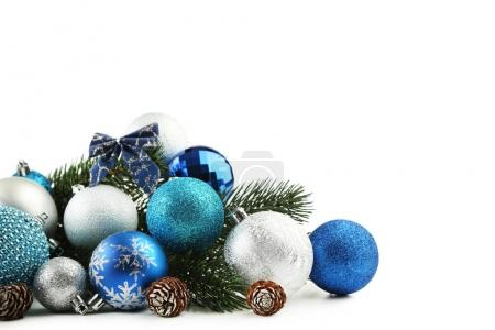 Christmas baubles with cones