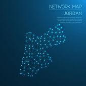Jordan network map