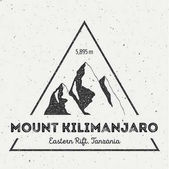 Kilimanjaro in Eastern Rift Tanzania outdoor adventure logo