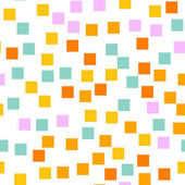 Abstract squares pattern White geometric background Pleasing random squares Geometric chaotic