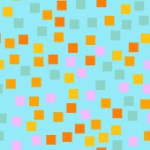 Abstract squares pattern Blue geometric background Awesome random squares Geometric chaotic