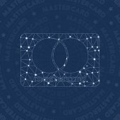 Cc mastercard network symbol Admirable constellation style symbol Marvelous network style Modern