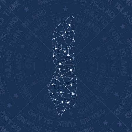 Grand Turk Island network constellation