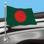 Vector clip art flag Bangladesh