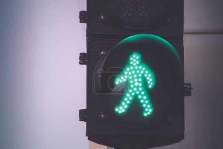 Traffic light on urban scenario