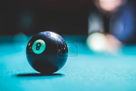 billiard plastic eight ball