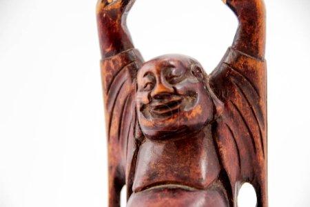 Buddha wood statue