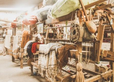 Traditional handicraft sewing factory in Queretaro Mexico