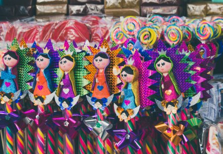 Traditional mexican candy from Basilica of Guadalupe