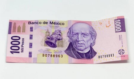 Mexican bill of one thousand pesos