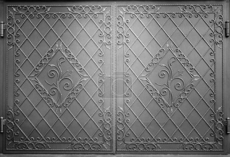 Decorative metal gate