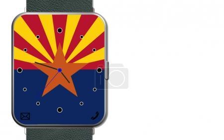 Clock Touch Screen Arizona...