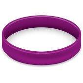 Icon symbol of the fight and awareness purple bracelet Ideal for educational and informational materials