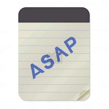 ASAP lettering  Notebook Template