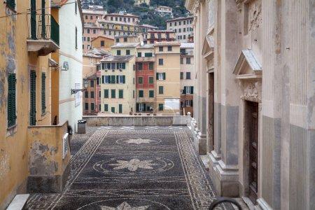 Camogli, old city centre. Color image