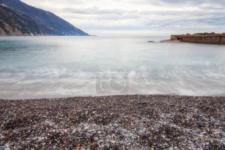 Camogli, the beach. Color image