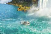 Boat adventure at Niagara Falls