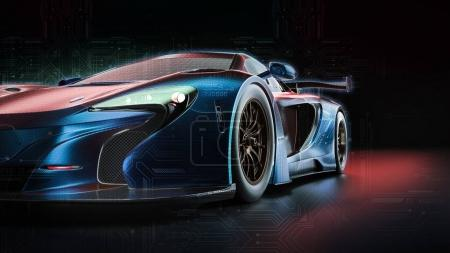 Electric power car.