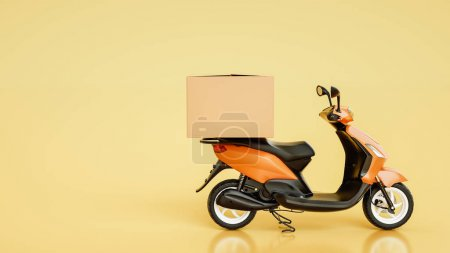 Item boxes are on motorcycles.