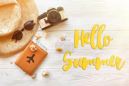hello summer text