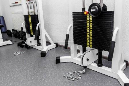 gym weights training equipment