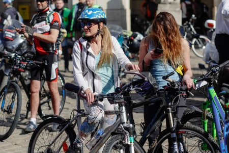 cycling marathon VIII in Lviv