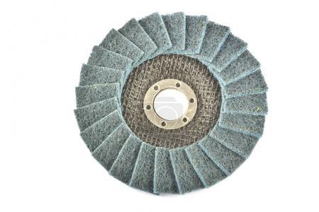 Abrasive wheels isolated on a white background