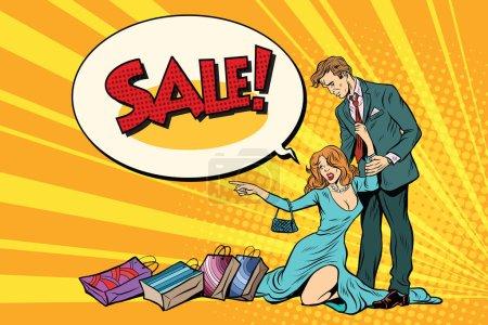 Wife and husband on sale