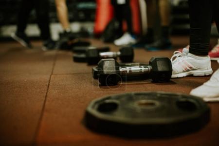 Crossfit equipment training