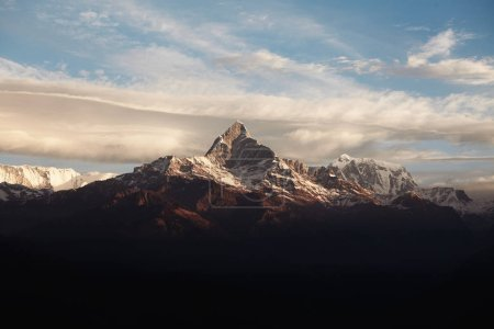 gorgeous amazing view of Mount