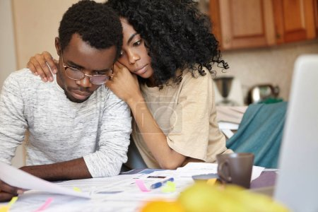 African couple is bankrupt