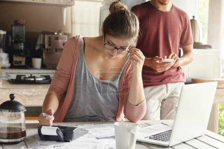 woman planning family budget
