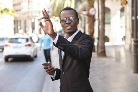 Afro American entrepreneur