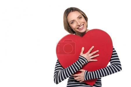 Happy woman in love