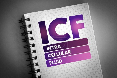 icf - Akronym für intrazelluläre Flüssigkeit
