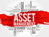 Asset Management word cloud business concept