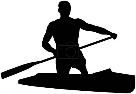 canoeing athlete sports canoe with paddle